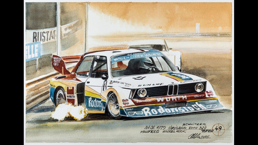 Kahveyle yapılan bu BMW resimlerine bayılacaksınız