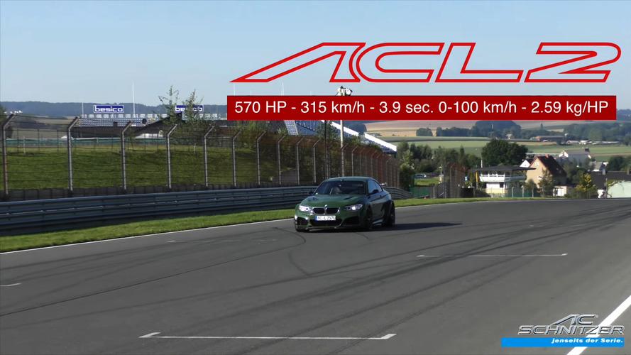 VIDÉO – La BMW M2 ACL2 plus rapide qu'une Aventador SV