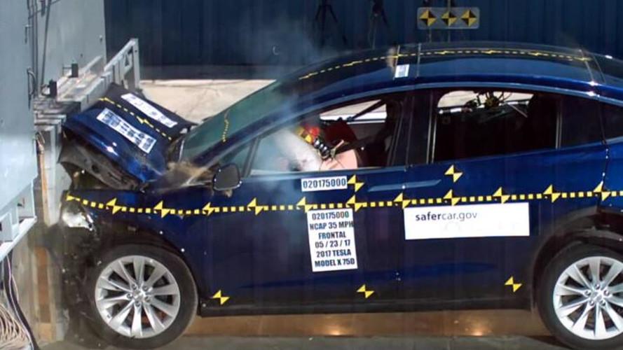 Most már biztos: a Tesla Model X a világ egyik legbiztonságosabb SUV-ja