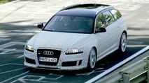 New Audi RS6 Avant Nurburgring Spy Photos