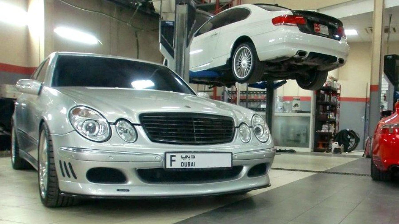 Mercedes E-Class W211 with V12 by Speedriven, 900, 01.04.2011