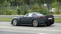 Lexus LF-A Spyder Spy Photos