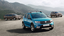 Dacia facelifts 2016 Paris Motor Show