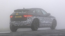 Jaguar E-Pace test mule spy photo
