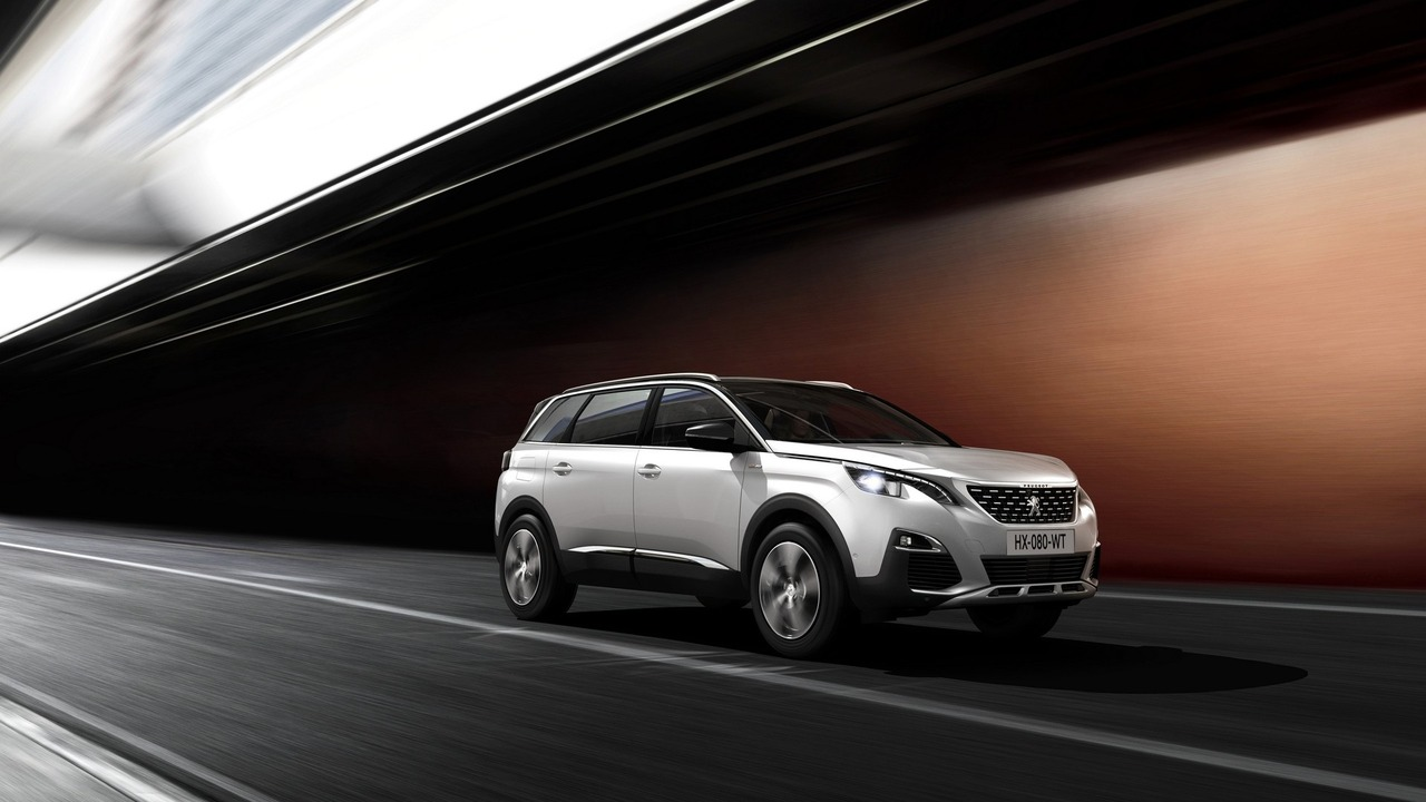 2017 peugeot 5008 debuts as seven seat suv. Black Bedroom Furniture Sets. Home Design Ideas