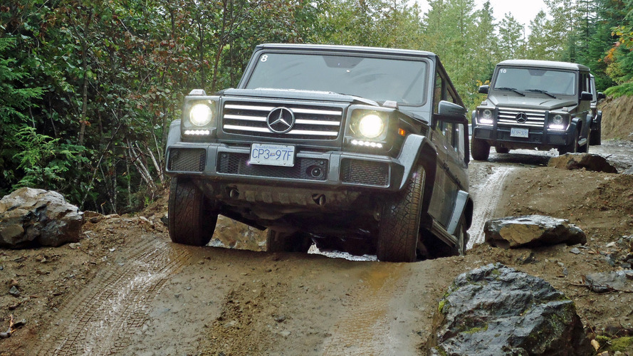 Military-grade luxury with Mercedes-Benz G-Class off-road experience