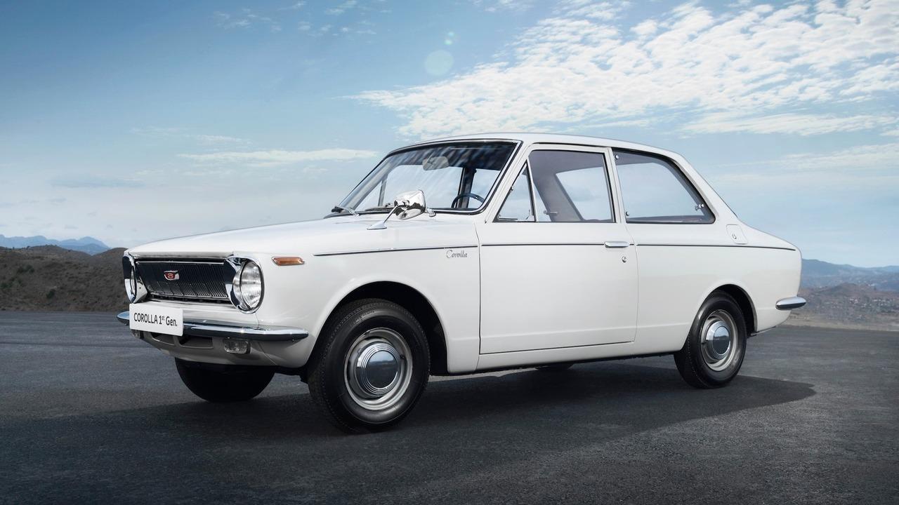 La Toyota Corolla a 50 ans !