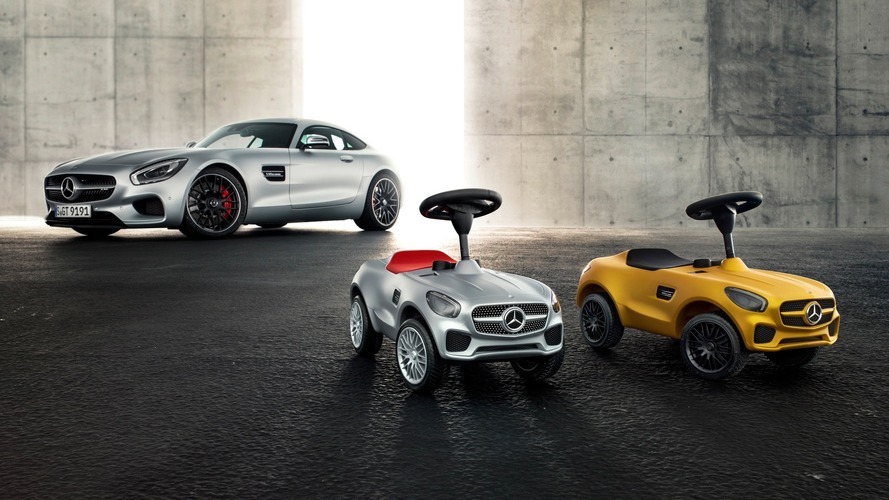 Mercedes unveils AMG GT Bobby-Car for kids