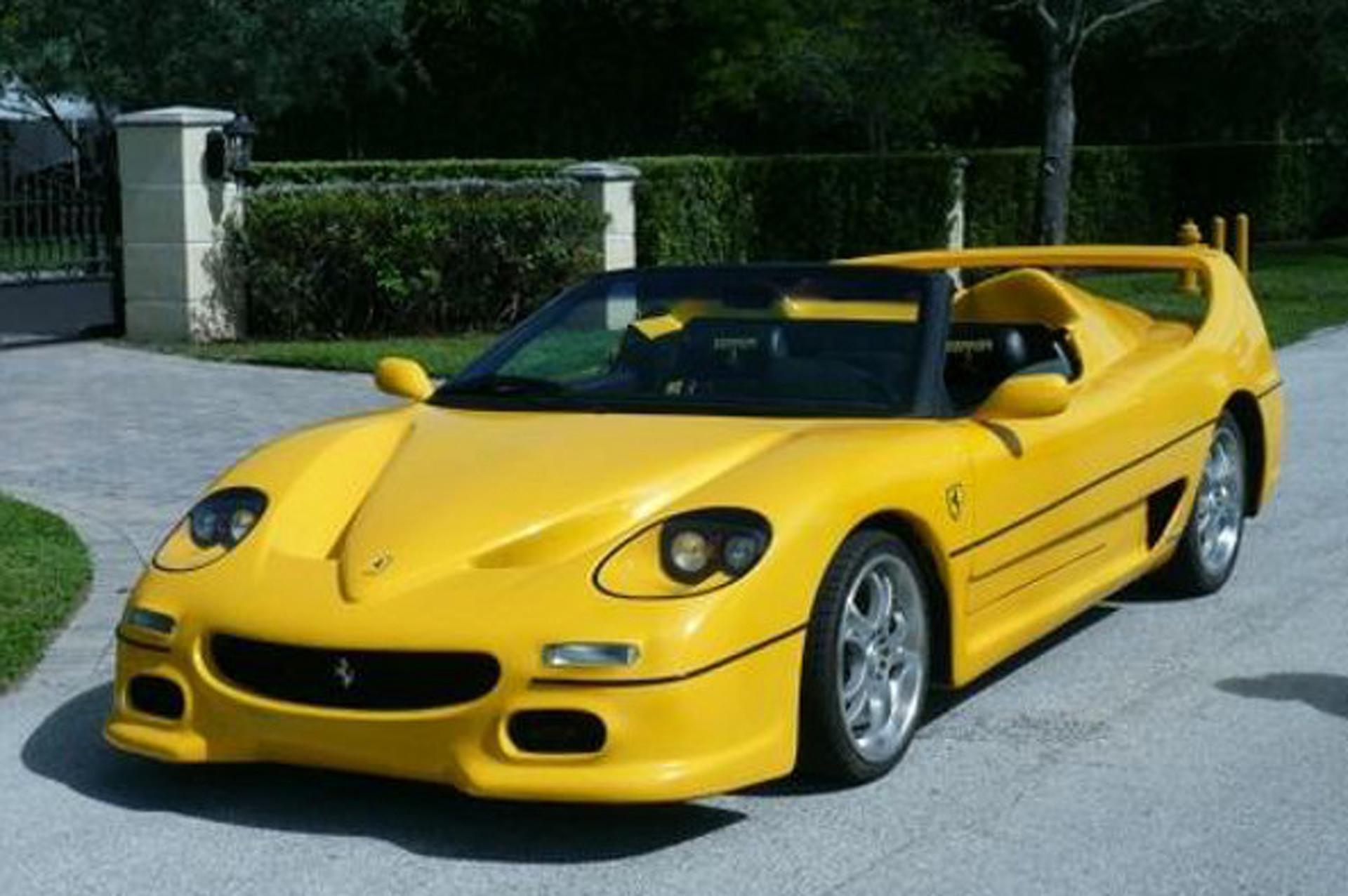 Fiero-Based Ferrari F50 Kit Car is an Automotive Atrocity