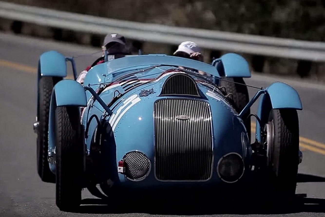 The Car That Took It to Hitler: The Million Franc Delahaye
