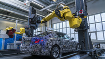 2017 BMW 5-Series prototype receives robot 3D mapping for quality