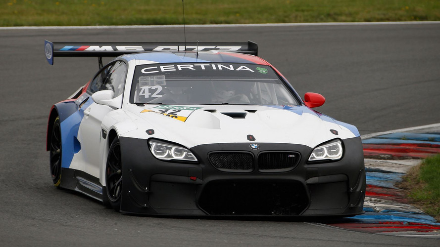 BMW M6 GT3 Testing New Evo Package For 2018