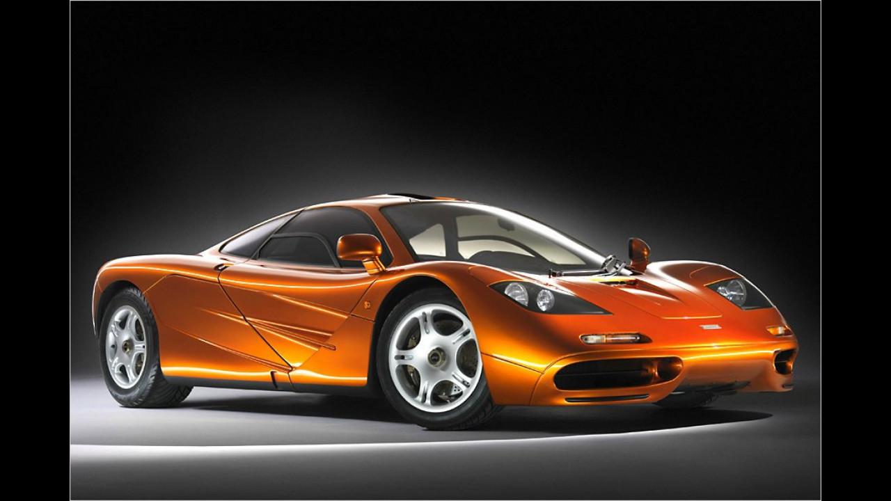 391 km/h: McLaren F1 (1994)