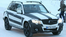 Mercedes GLK spy photos