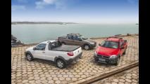 Volta Rápida: Fiat Strada 2014 inova de novo com porta dos fundos