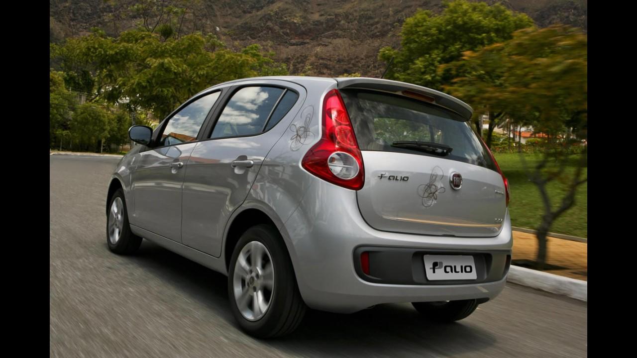Novo Fiat Palio é lançado no Uruguai - Motor 1.4 e consumo de 18,0 Km/l na estrada