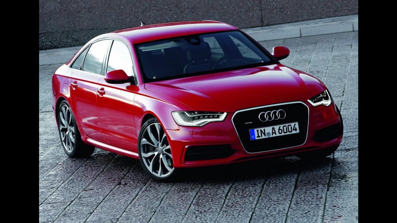 Novo Audi A6 recebe 5 estrelas no Euro NCAP