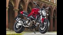 Ducati amplia família Monster com a nova 821