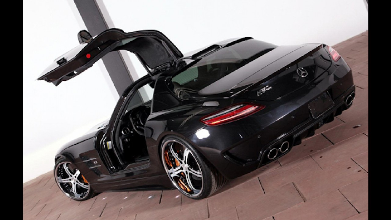 Mercedes-Benz SLS AMG recebe upgrade da MEC Design
