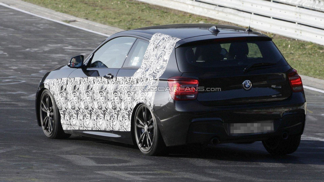 BMW M135i spied at Nurburgring 28.03.2012