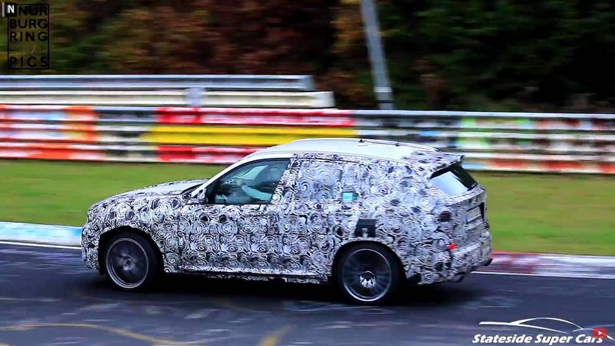 Watch The 2019 BMW X3 M Go Berserk At The 'Ring