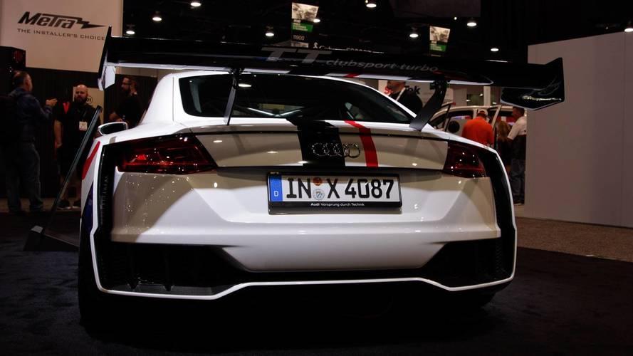 Audi TT Clubsport Concept: SEMA 2017