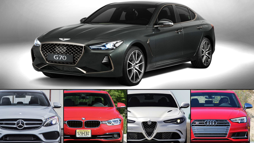 Genesis G70 2018, ¿mejor que las berlinas Premium europeas?