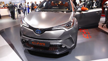Toyota C-HR Hy-Power Concept live in Frankfurt