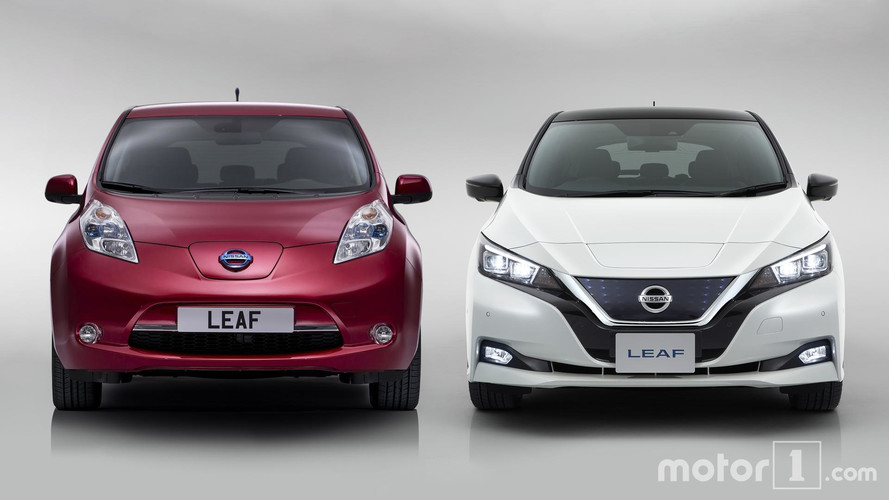 2018 Nissan Leaf: See The Changes Side-By-Side