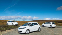Renault ZOE powered almost entirely by renewable energy in Scotland