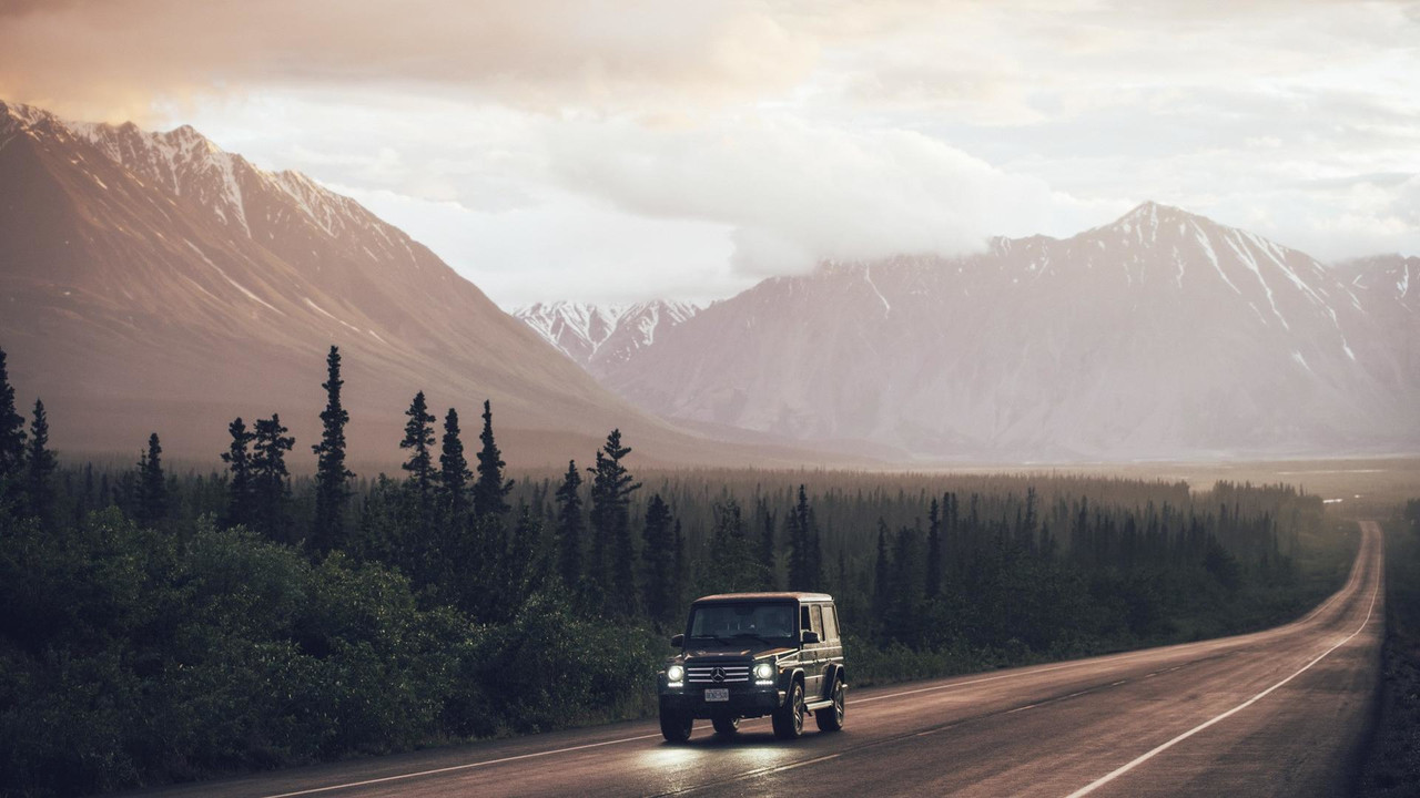 Mercedes G Class On Tour From Canada To Alaska Motor1 Com Photos