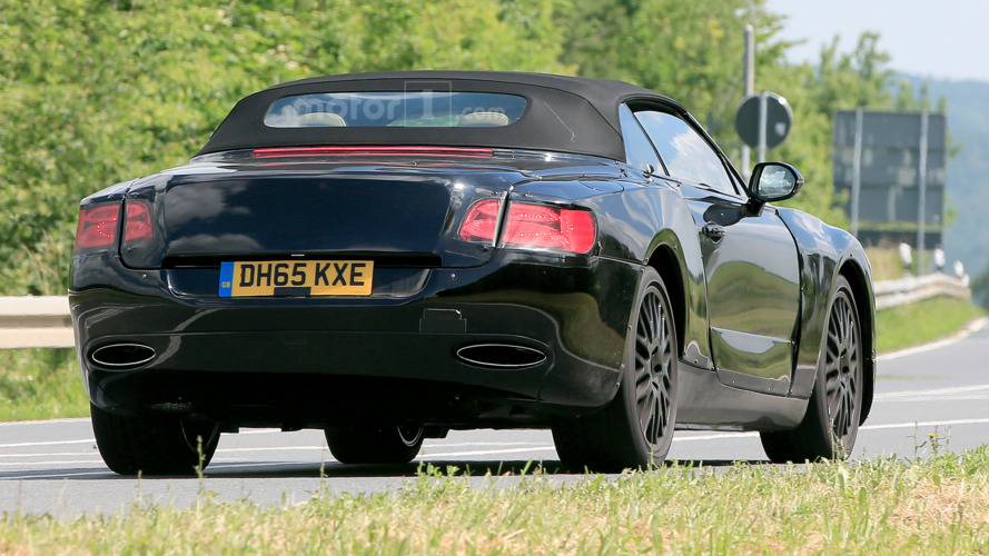 2018 Bentley Continental GT Convertible Spied