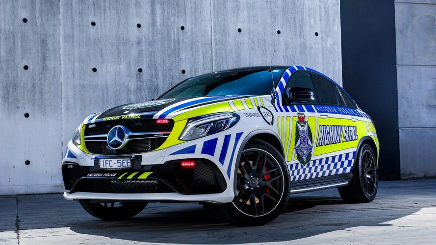 Quand Mercedes-AMG équipe la police australienne