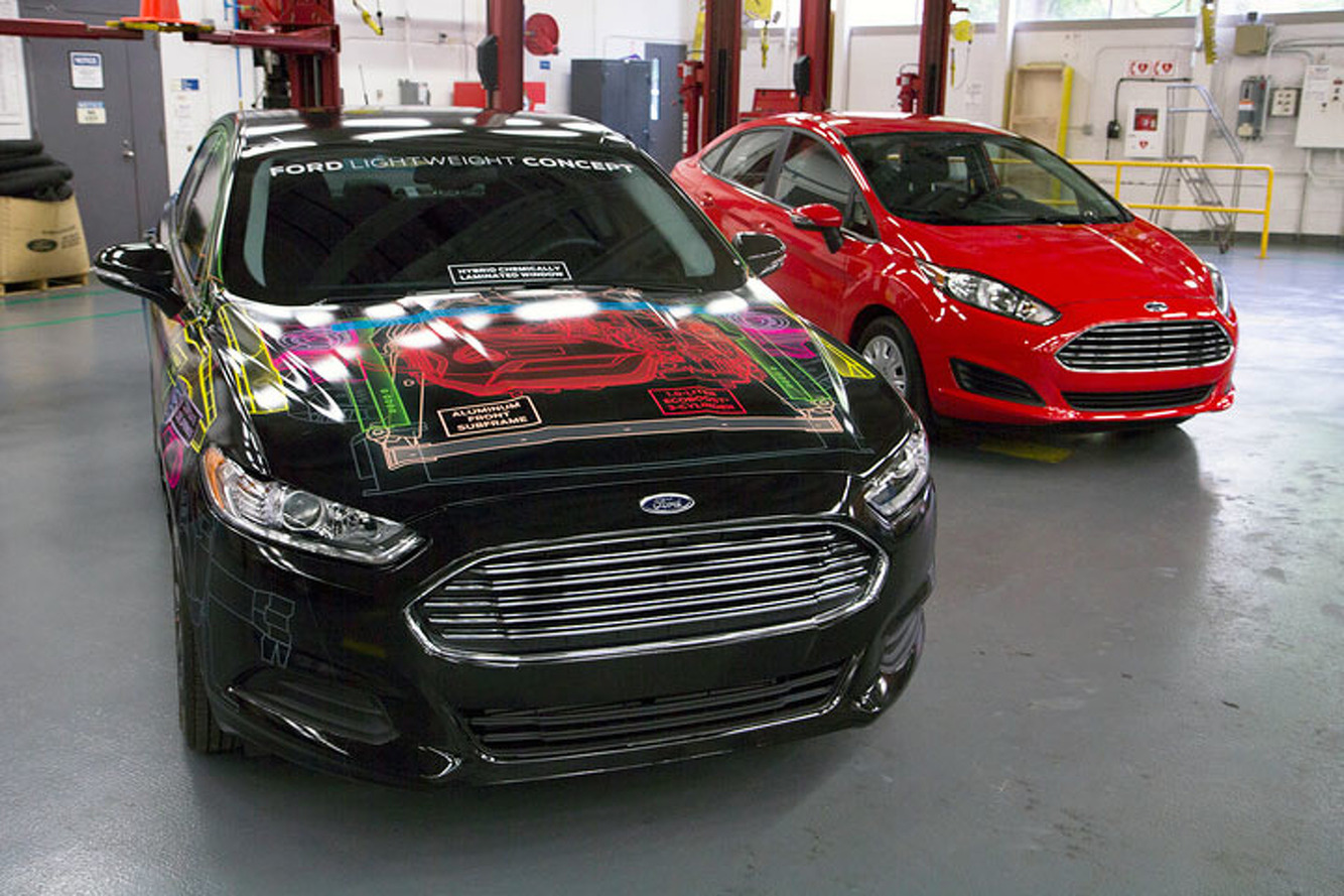 Ford Cars of the Future Could Get a Whole Lot Lighter