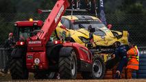 #64 Corvette Racing C7-R crash at 2016 24 Hours of Le Mans