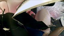 IIHS sports coupe crash test
