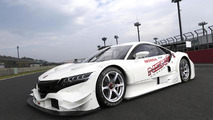 Honda NSX Concept-GT race car takes a tea break [video]