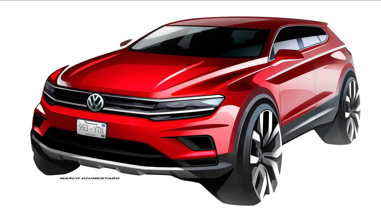VW Tiguan Allspace teaser
