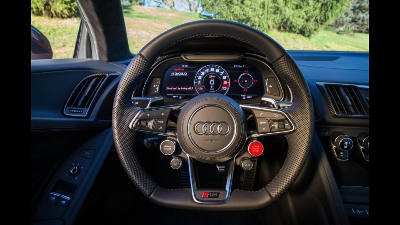 Downsizing: Audi R8 terá motor 2.9 V6 bi-turbo com potência de 500 cv