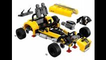 Esportivo para montar: Lego apresenta Caterham Seven com mais de 770 peças