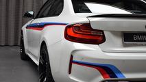 Une BMW M2 avec le kit M Performance