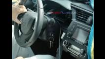 Flagra! Nova geração do Honda Civic vai abandonar painel em dois andares