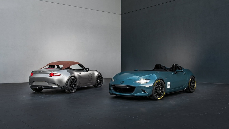 Mazda MX-5 Spyder and MX-5 Speedster concepts fully revealed at SEMA