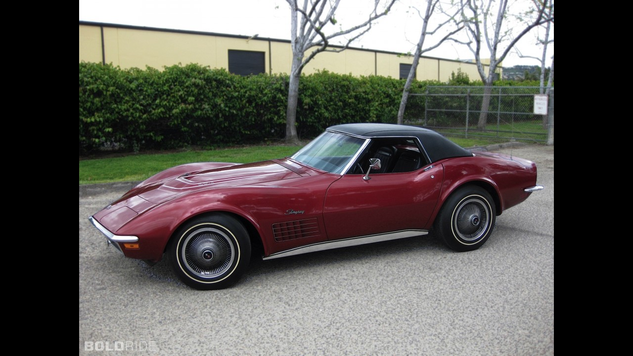 Chevrolet Corvette 350/370 LT1 Convertible