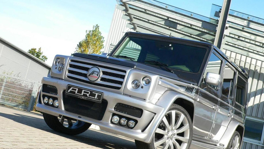 A.R.T. G streetline STERLING based on Mercedes G-Class