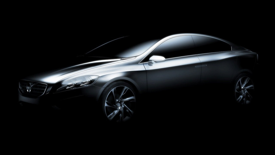 Volvo S60 Concept teaser image released