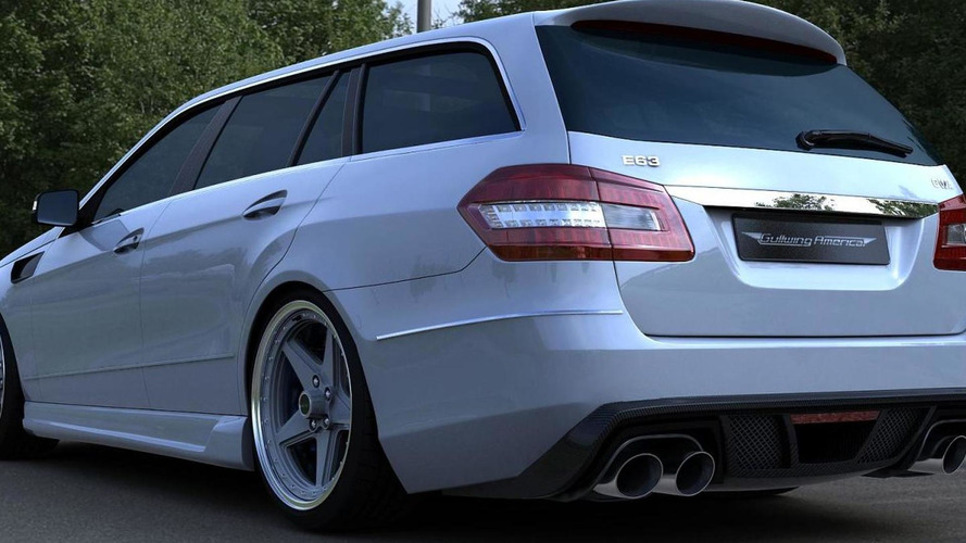 2011 mercedes e63 amg wagon by gwa tuning. Black Bedroom Furniture Sets. Home Design Ideas