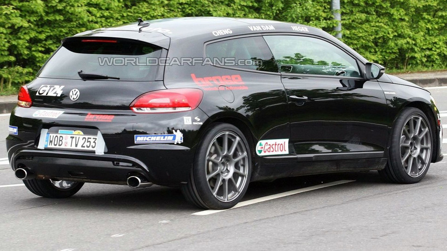 VW Scirocco R20T Disguised as Racecar -  Latest Nurburgring Spy Photos