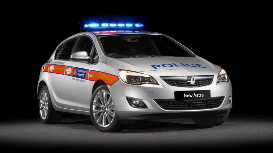 2010 Vauxhall Astra in Full Police Livery (UK)