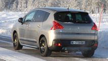 2011 Puegeot 3008 HYbrid4 cold testing 10.02.2011